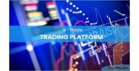 Online etrade trading platform