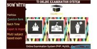 Online ti v2 system examination