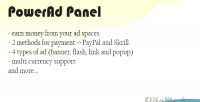 Panel powerad