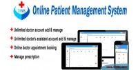 Patient online management system
