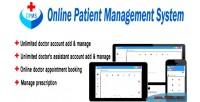 Patient online management system