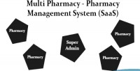 Pharmacy multi pharmacy management saas system