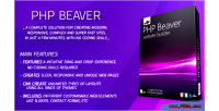 Php beaver drag & builder website drop