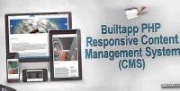 Builtapp php cms content system management
