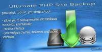 Php ultimate v2.0 backup site