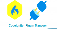 Plugin codeigniter manager