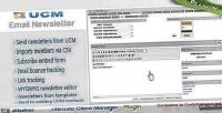 Plugin ucm bulk system newsletter email