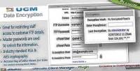 Plugin ucm data encryption