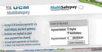 Plugin ucm multisafepay