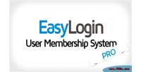 Pro easylogin system membership user
