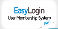 Pro easylogin system membership user