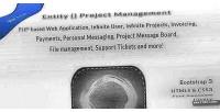 Project entity application web management