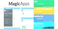 Project magicapps management appbuilder apps esn