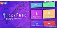 Project taskfeed management software