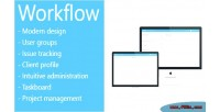 Project workflow management system