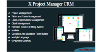 Project x manager crm