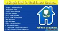 Real rolftask estate crm
