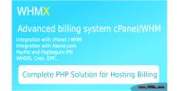 Register domain & billing whm cpanel for register