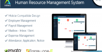 Resource human management hrms system