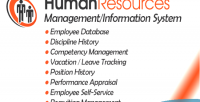Resources human management system