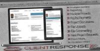 Responsive clientresponse management client php
