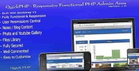 Responsive quickphp functional area admin php