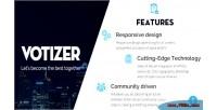 Responsive votizer php script toplist cms