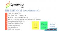 Rest php api framework all one in
