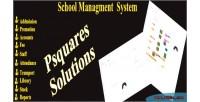 School psquares management system
