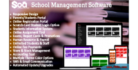 School soa management software integrated with portal students parents