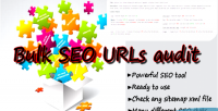 Seo bulk urls scan sitemap audit