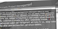 Simple spm project manager