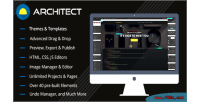 Site architect builder html and