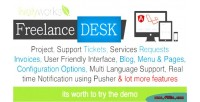Support freelancedesk system crm management project