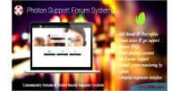 Support photon forum system