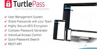 Team turtlepass password manager