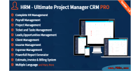 Ultimate hrm project pro crm manager