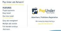 Under pop ads network