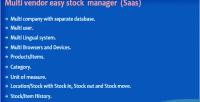 Vendor multi manager stock easy