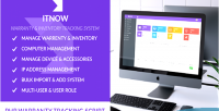 Warranty itnow system tracking inventory
