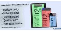 Mobile weather v1 for tablets & smartphones