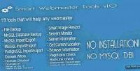 Webmaster smart tools v1.0