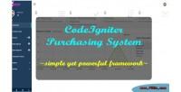 Purchasing codeigniter system