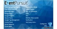 Pursuit event