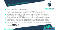 Push android gcm using notification