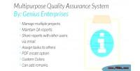 Quality multipurpose assurance system
