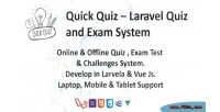 Quiz quick laravel system quiz exam and
