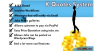 Quotes k system quotation price