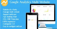 Analytics google multi website