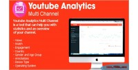 Analytics youtube multi channel